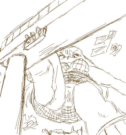 大魔神ロボはミニスカート